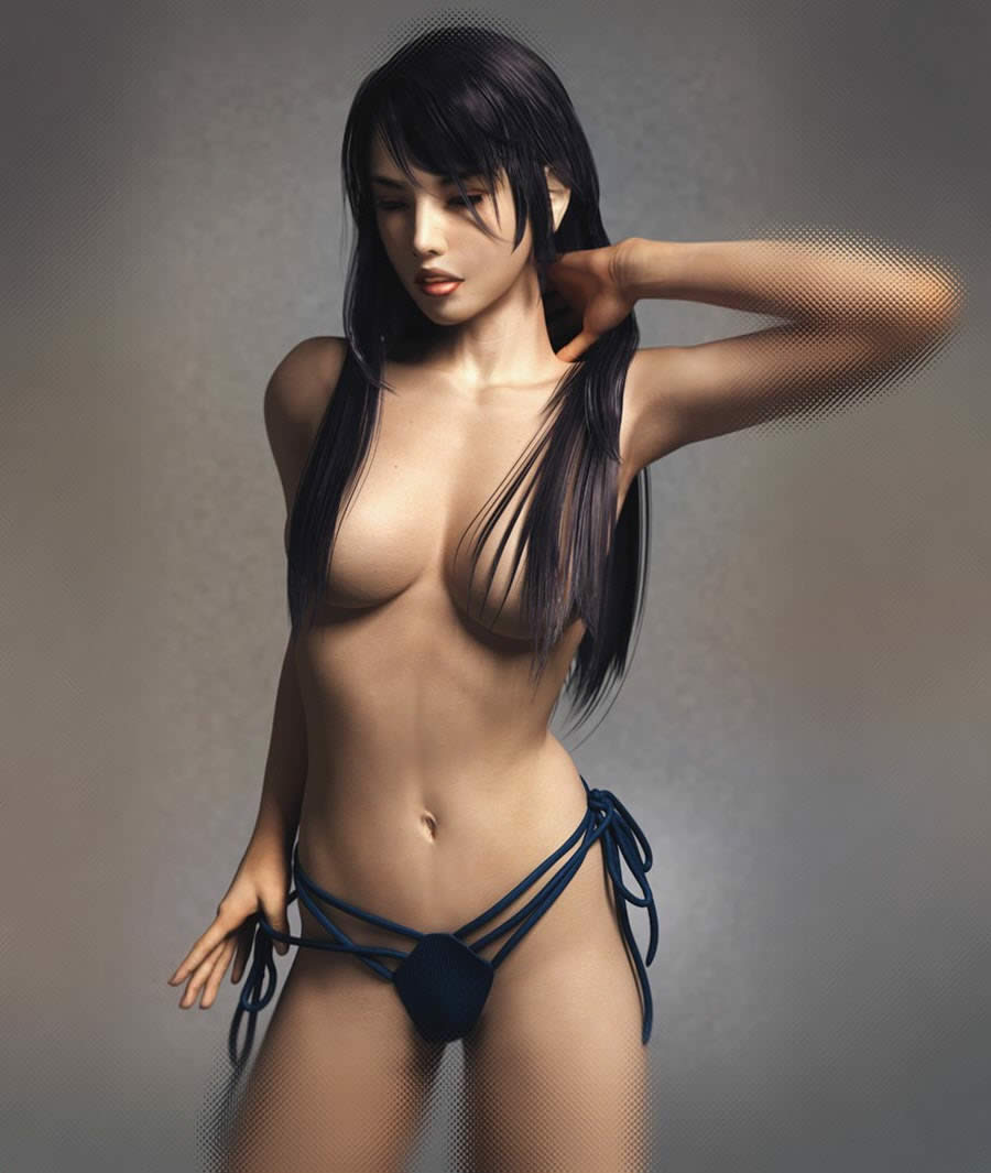 beautiful 3d naked girl